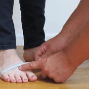 Schuhweite messen