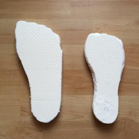 Schuhspanner Rohling vs Feinschliff