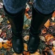 Stiefel mit weitem Schaft und Mehrweite