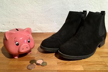 Günstige weite Schuhe finden